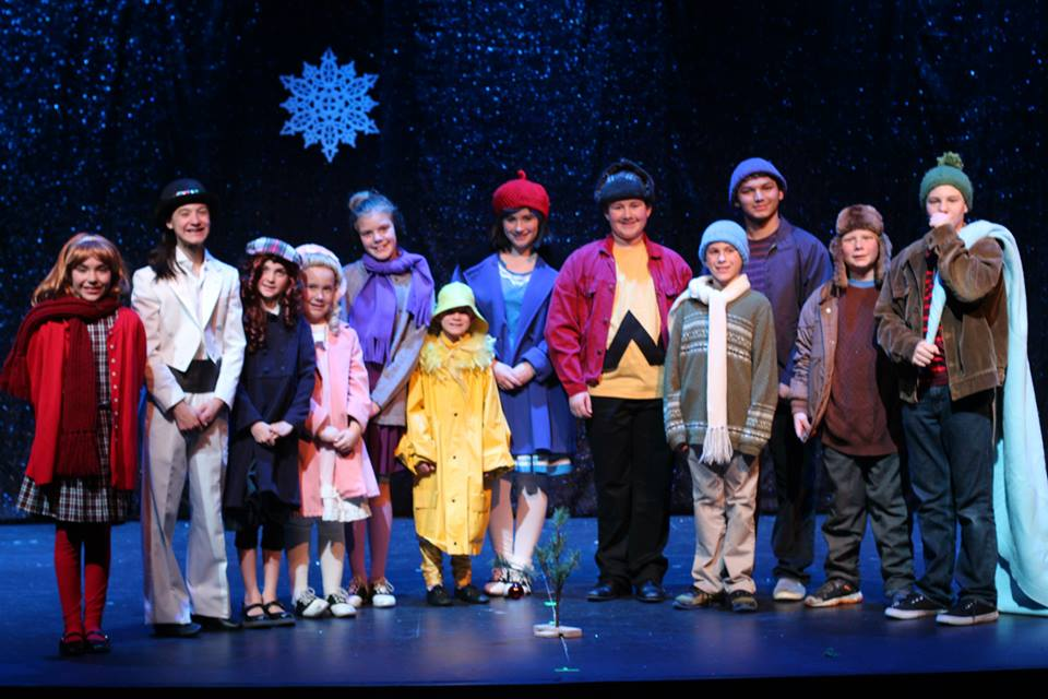 Peanuts Christmas Musical.A Charlie Brown Christmas Camptmp Honor Camp Tmp Tacoma