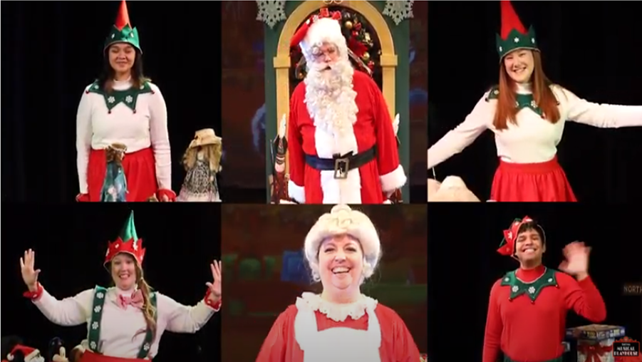 Sing-Along with Santa Cast